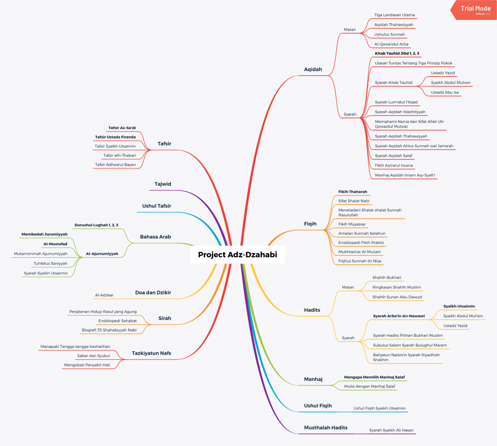 Contoh Mind Map XMind Zen