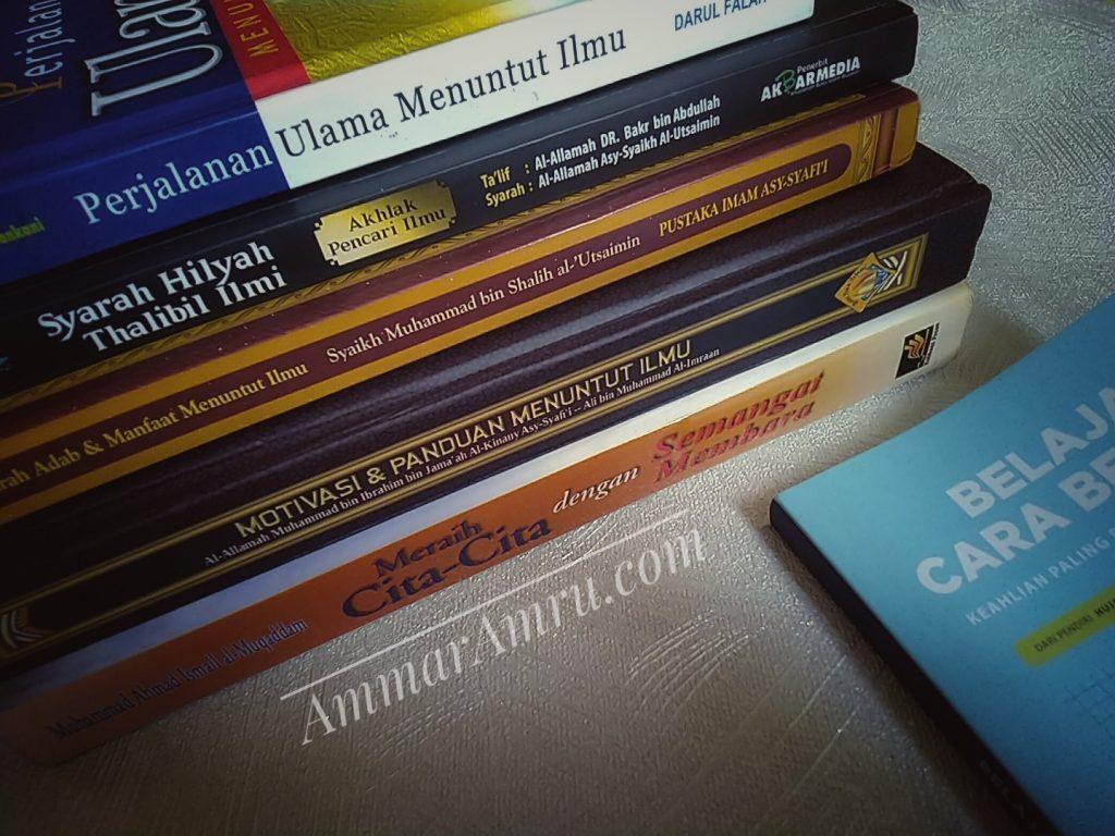 Buku Referensi Menuntut Ilmu Belajar Cara Belajar